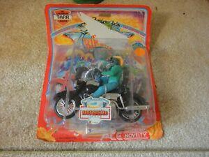 Rare!   Vintage B.c.   Bikers Leatherized Leader Tarr, Figurine articulée pour motard