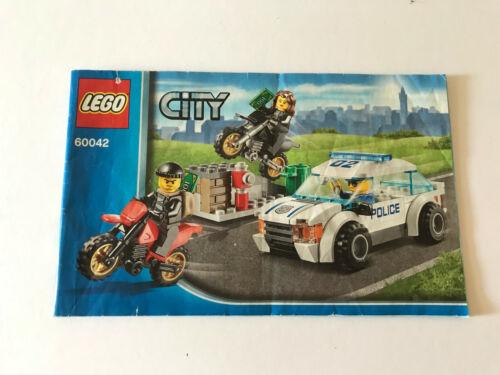 Lego City différentes recettes pour choisir des instructions