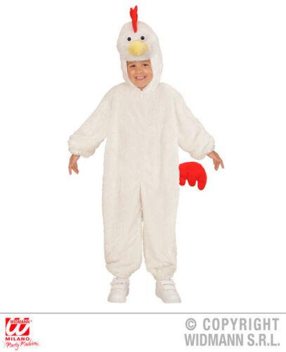 Childs Niños Childrens felpa esponjosa pollo Fancy Dress Costume Outfit 1-5 años