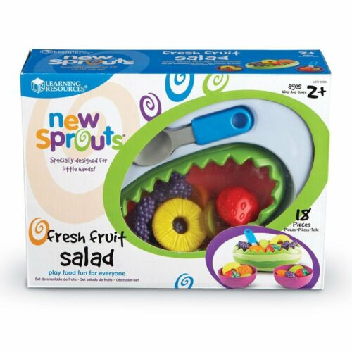 New /& MINT! Learning Resources New Sprouts Fresh Fruit Salad Set Set