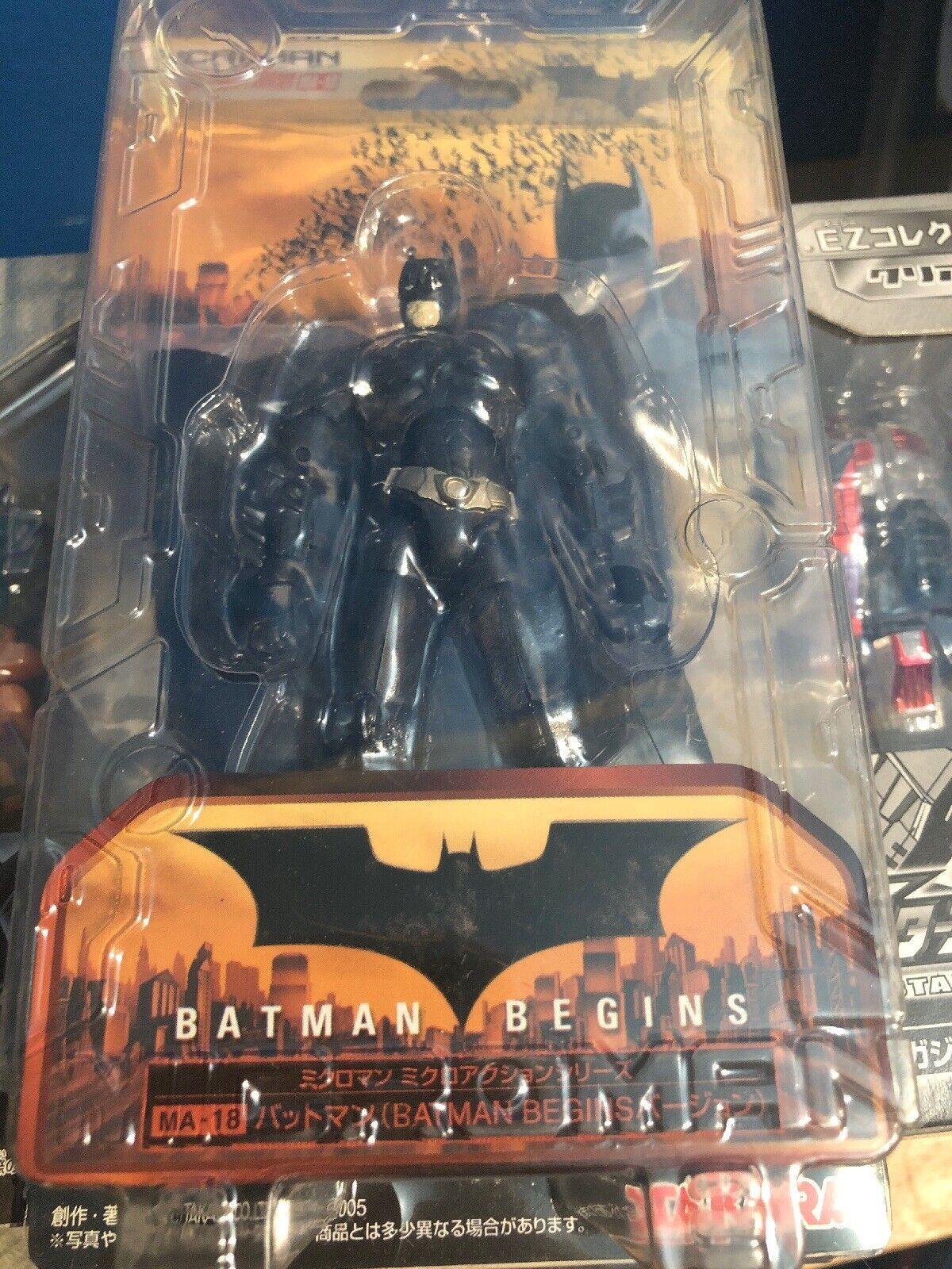 Microman MA-18 Batman Batman Batman Begins Batman Takara Figure b7831f