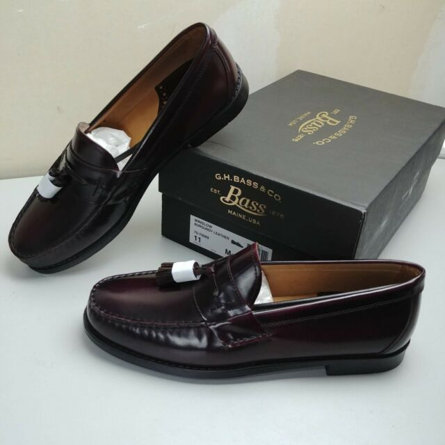 Bass /& Co Mens Wallace Loafer G.H