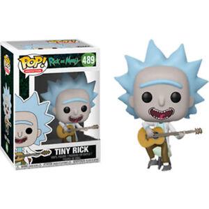 Funko Pop 489-Rick And Morty-Tiny Rick avec guitare Vinyl Figure