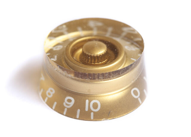 Speed Guitar Knob • USA • Gold
