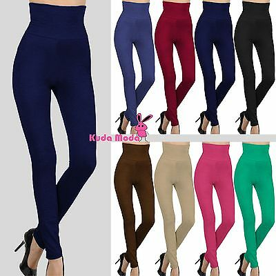 Sexy Hot High Waist Warm Thick Brushed Full Length Legging Tummy Control Pants