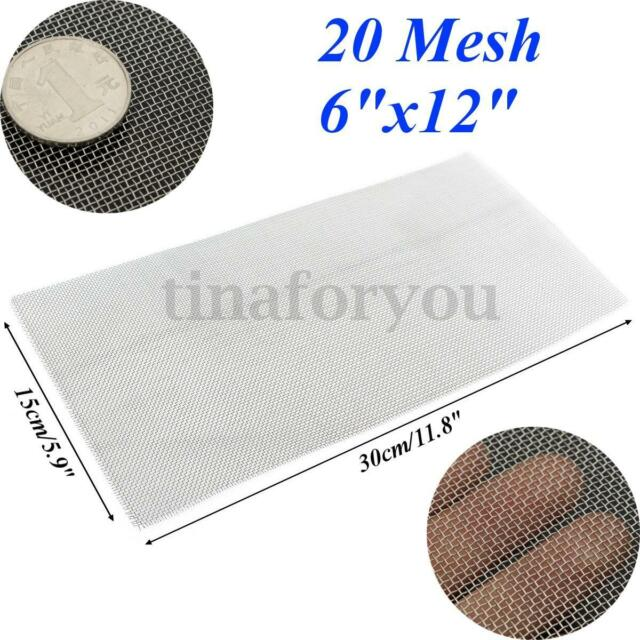 304 Stainless Steel 20 Mesh Wire Cloth Screen Filtration Supplies ...
