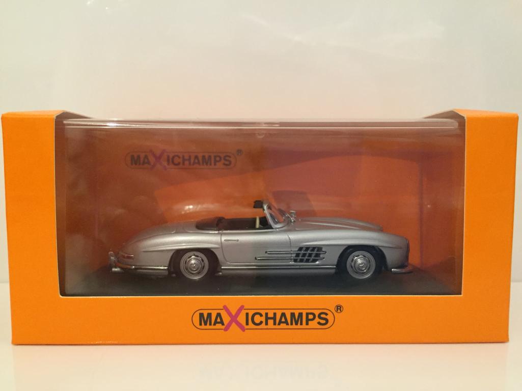 Minichamps 940039030 Mercedes 300 Sl Roadster Argent Maxichamps