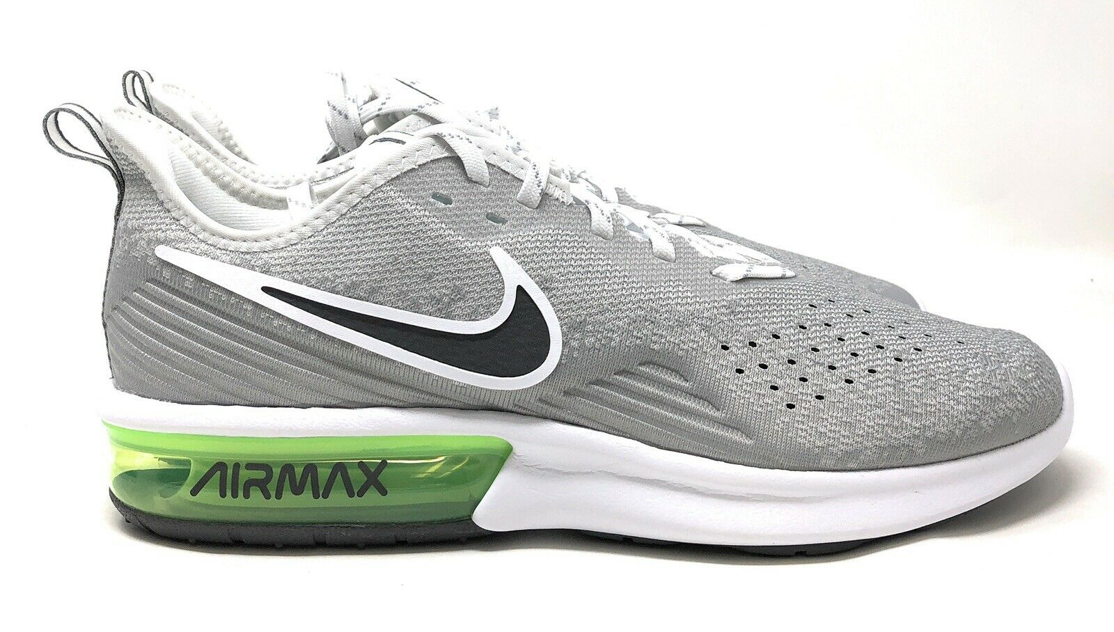 Size 11 - Nike Air Max Sequent 4 Gray Lime Blast for sale online ...