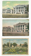 A2237 LOT OF 3 POSTCARDS OF  LOS ANGELES CA UNIVERSTY & POLYTECHNIC