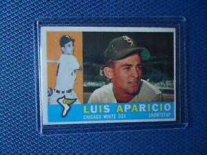 1960TOPPS LUIS APARICIO CHICAGO WHITE SOX #24O NICE CONDITION