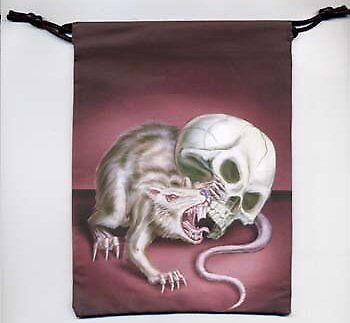 Rat Dice Bag Dark Platypus GAMING SUPPLY BRAND NEW ABUGames