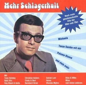 Schlagerkult-Mehr-Hits-der-60er-und-70er-Sony-Bernd-Spier-Tony-Holiday-CD