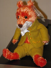 Ty MR. TOD Beanie Baby (GOLD LETTERING) - Beatrix Potter - MINT TAGS - UK Excl