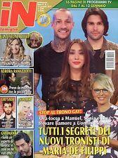 In Famiglia 2017 1#Maria De Filippi-Uomini e Donne,Michelle Hunziker,Giò Sada,jj