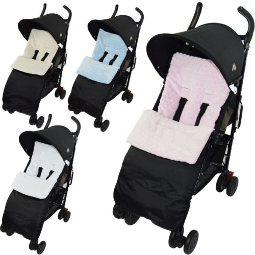 Marshmallow Pushchair Footmuff Cosy Toes Compatible with Joie