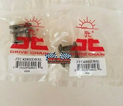428 HDRSL Heavy Duty Master Link JT CHAIN Clip style 2 PACK