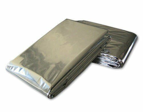 """Pack of 12 Blankets Emergency Mylar Blanket 52/"""" x 84/"""""""