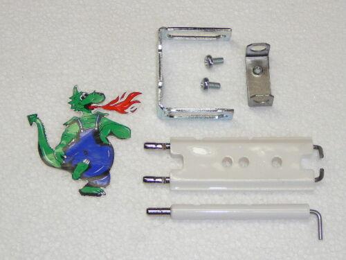 JUNKERS Zündelektrode Zündelektroden Set 8718107050 CL CLN  ZSR ZWR ZR ZN ZWN