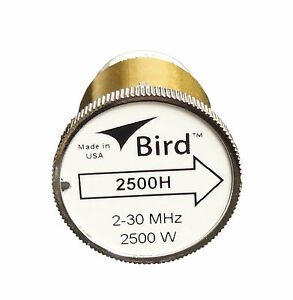 Bird-2500H-Plug-in-Element-0-to-2500-watts-2-30-MHz-for-Bird-43-Wattmeters