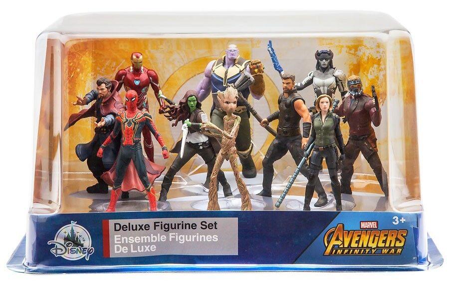 Marvel Avengers  Infinity War Exclusive 10-Piece Deluxe PVC Figure Playset