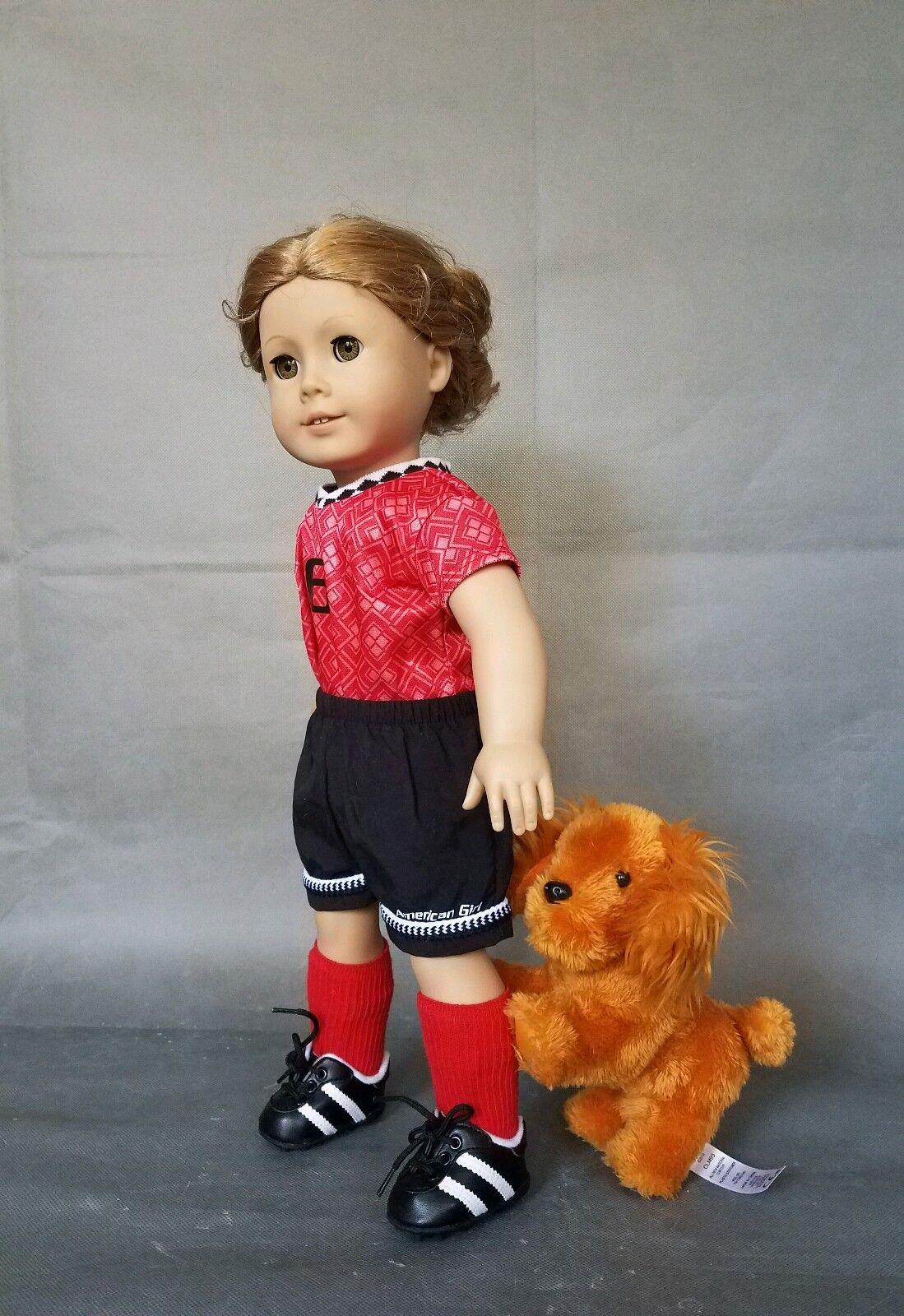 American Girl Pleasant Company Doll Blonde Hair Grün Eyes 18