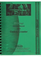 Oliver Dd Crawler Service Repair Manual Cletrac Sn 1l5000 Amp Up