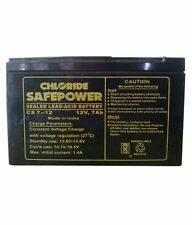 Exide Chloride Safe Power Battery 12v 7 Ah for(UPS, Invertors, Solar Equipment)
