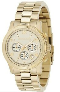 Michael-Kors-Watch-MK5055-Runway-Chronograph-Gold-Steel-for-Women-COD-PayPal