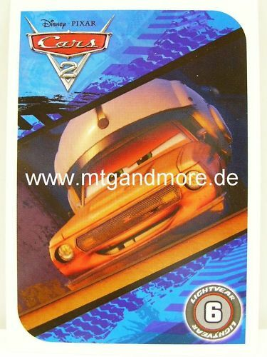 Common Cars 2 tcg-Motif Bleu 6.4
