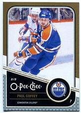 2011-12 O-Pee-Chee PAUL COFFEY Gold Marquee Legends #L1 Rare SP HOF OPC High BV