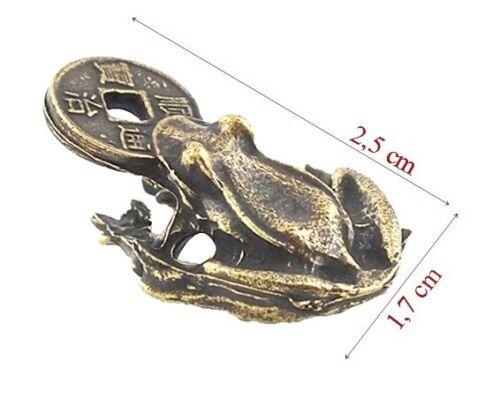 Glücksbringer   auch für Setzkasten # 5 FENG SHUI Frosch  Frog TALISMAN