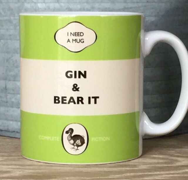DODO BOOK MUG - GIN AND BEAR IT - POST  DAILY + WORLDWIDE