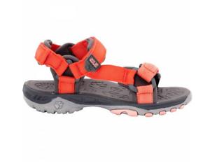 Jack Wolfskin Seven Seas Orange Kindersandalen Strandschuhe Badeschuhe Sandalen