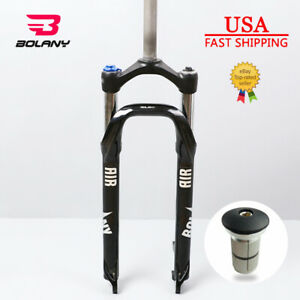 """26*4.0/"""" BOLANY Suspension Fork Beach Snow MTB Bike 1-1//8/"""" Oil Spring Fat Forks"""