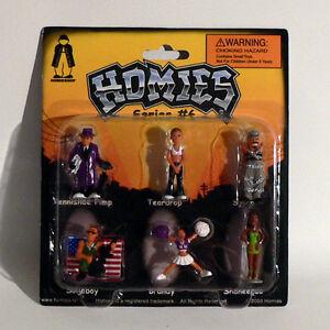 Appris Homies Figurines / - Série #6 Lot De 2 - 1:3 2 - 4,5 Cm - Rare - Emballage Les Produits Sont Disponibles Sans Restriction