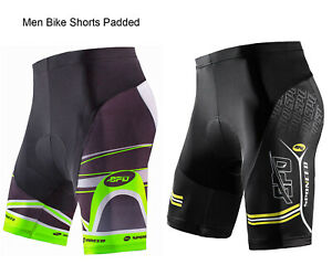 Cycling Pants Padded Men Bike Trousers Stretchy Bicycle Tights Cyclist Bottoms