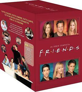 Friends-La-Serie-Completa-Stagioni-1-10-Cofanetto-49-Dvd-Nuovo