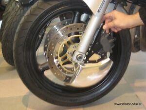 Bremsscheiben-Abdeckung-disc-cover-poliert-Road-Racing-Honda-CB600-Hornet-PC36