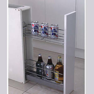 "Kitchen Cabinet Pull-out Drawer 6"" Organizer"