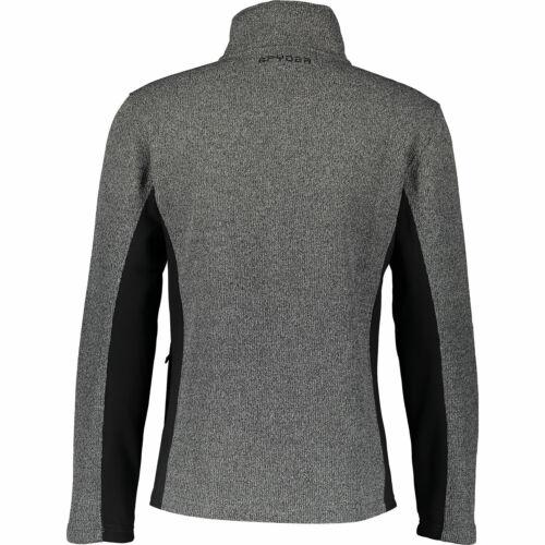 Full Zip Sz: M Spyder Men/'s Racer Sweater Fleece Jacket rrp:us$ 129 XL L