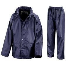 Childs Waterproof Suit Jacket   Trousers Rain Set Kids Childrens Boys Girls  Pack 65aee8d5b