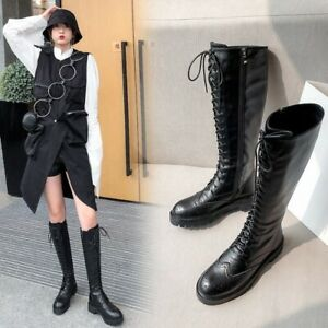 Ladies Tall Riding Boots Black Leather