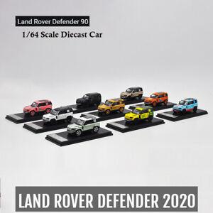 1-64-Land-Rover-Defender-90-hard-top-White-Gulf-Camel-trophy-Pink-Pig-Gold-Car