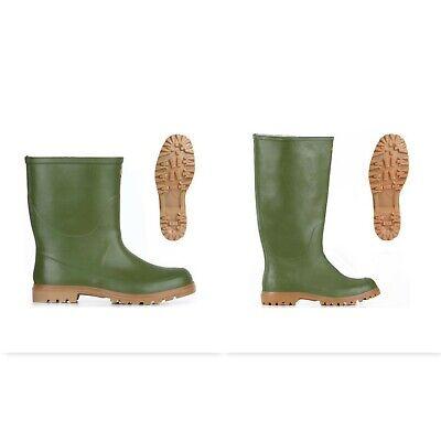 SUPERGA stivali GOMMA 7324+7133 GINOCCHIO+TRONCHETTO ALPINA pioggia Verde Oliva | eBay