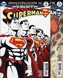 Superman 14 15 16 Annual 1 Dc Comics Rebirth Action Red Son Multiplicity Set Ebay