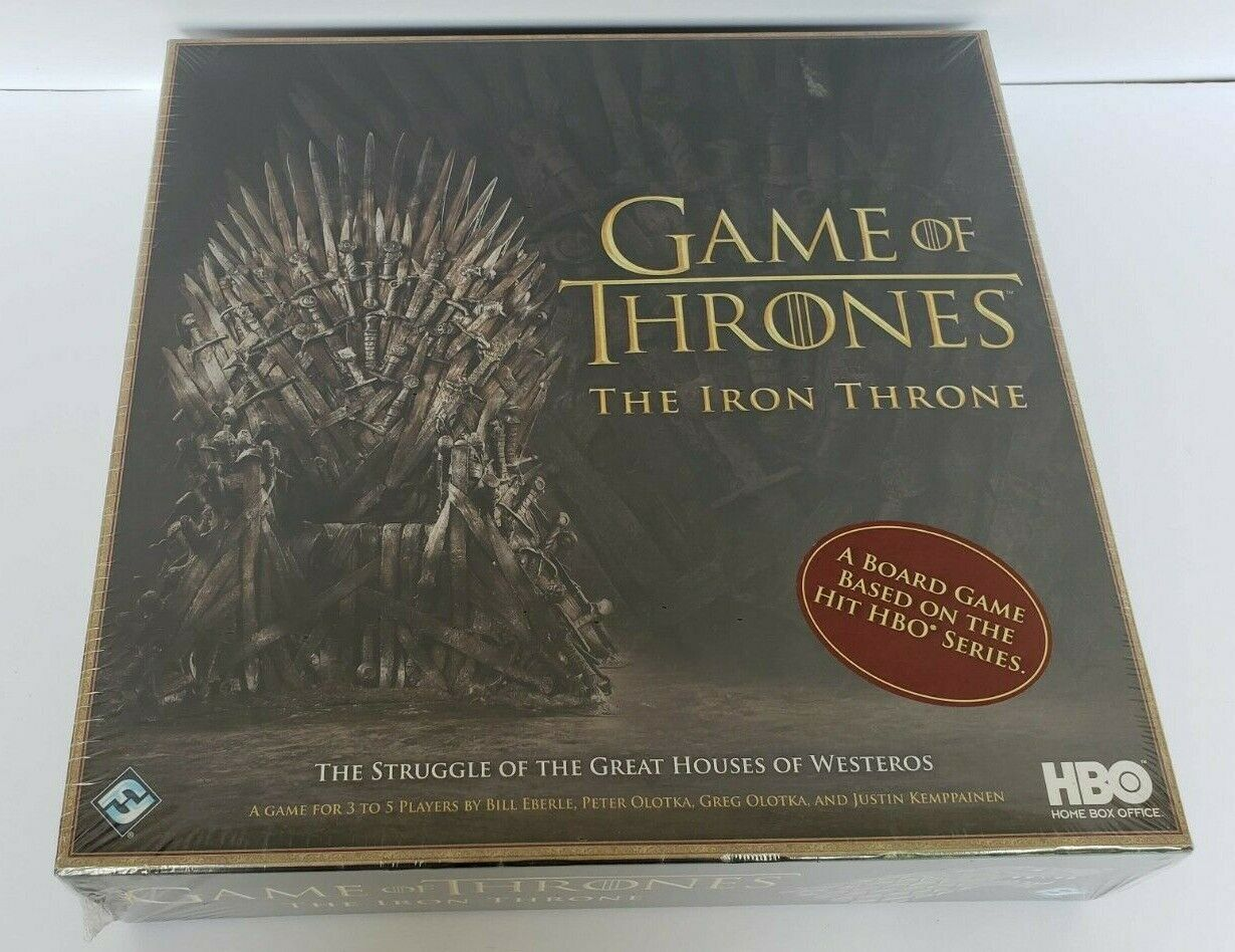 Game of Thrones  The Iron Throne Board Game NEW SEALED HBO Fantasy Flight Games