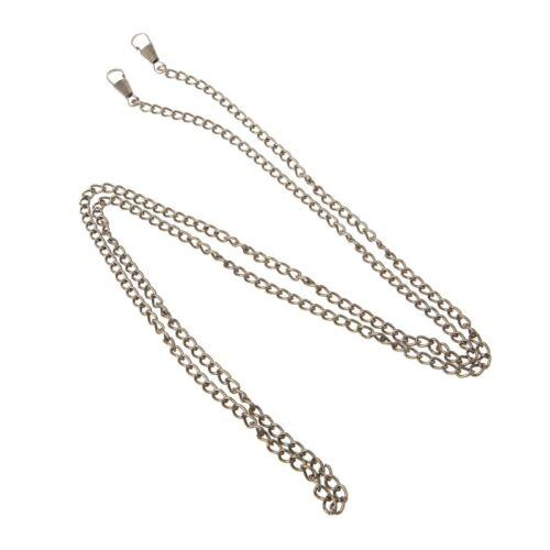 120cm Purse Bag Metal Chain Strap Cross body Replacement Shoulder Handbag Handle