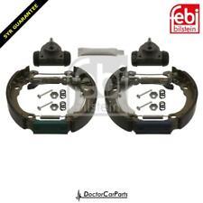 x2 Brake Drum Rear FOR FIAT PANDA II 03-/>13 1.1 1.2 1.3 1.4 Hatchback Van 169
