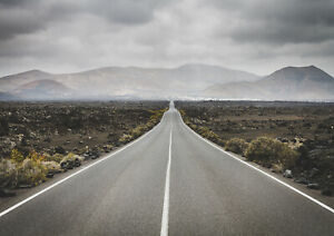 A1-Nevada-Road-Poster-Print-A1-Size-60-x-90cm-Highway-Road-Wall-Gift-14818