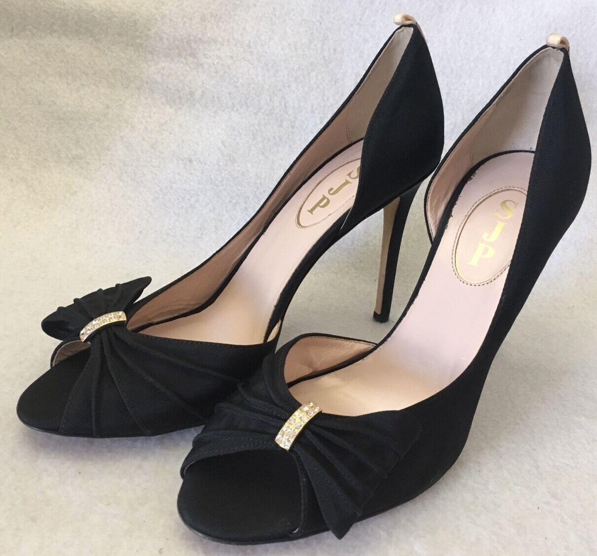 SJP Sarah Jessica Parker Doris D 'Orsay pump pump pump arco raso zapatos talla 38.5  385 029377